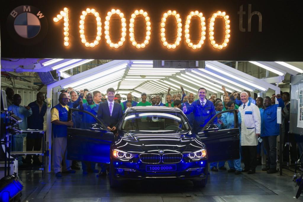 BMW 3-Series Sedan 1-MIllionth Car Anniversary