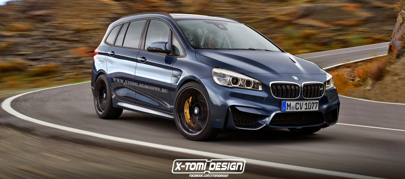 BMW M2 Gran Tourer Launched in Renderings [New Images]