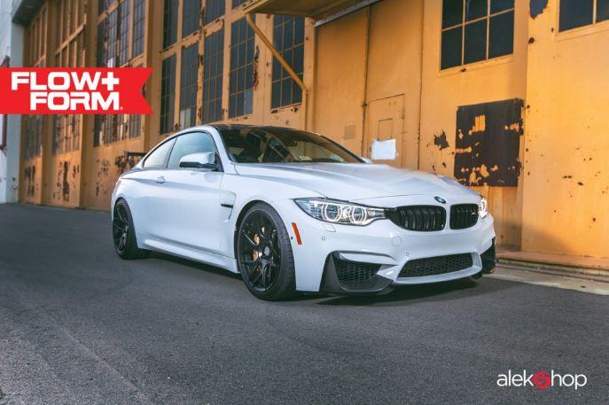 BMW M4 Alpine White Tuned Up by Alekshop