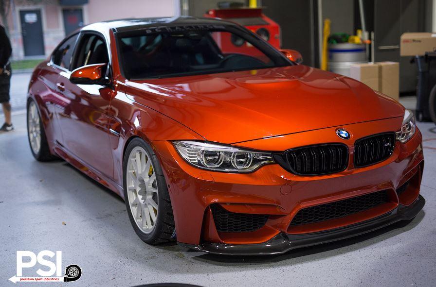 BMW M4 Sakhir Orange by PSI