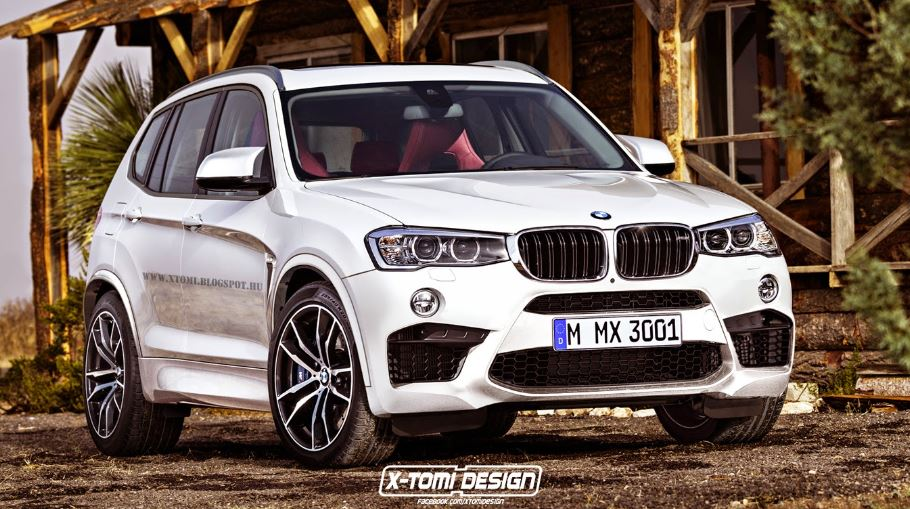 BMW X3 M Rendering