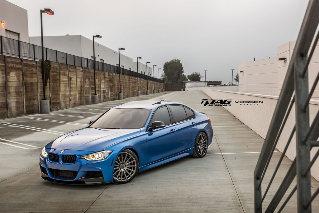 F30 BMW 3-Series with Vossen Wheels By TAG Motorsport