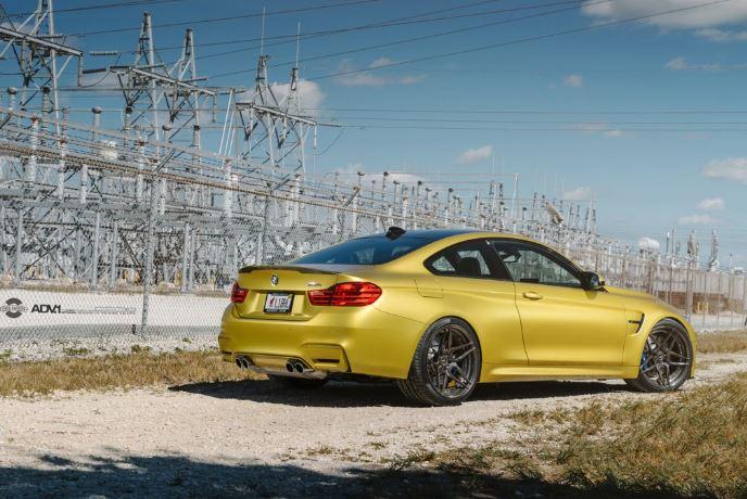 F82 BMW M4 Austin Yellow - Photo Session by William Stern