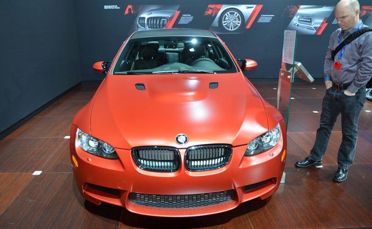 BMW shows off an unique E92 M3