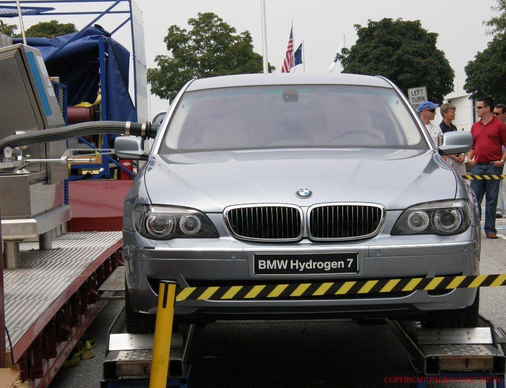 BMW 7-Series Hydrogen at the Spartanburg BMW Plant's Hydrogen Road Tour