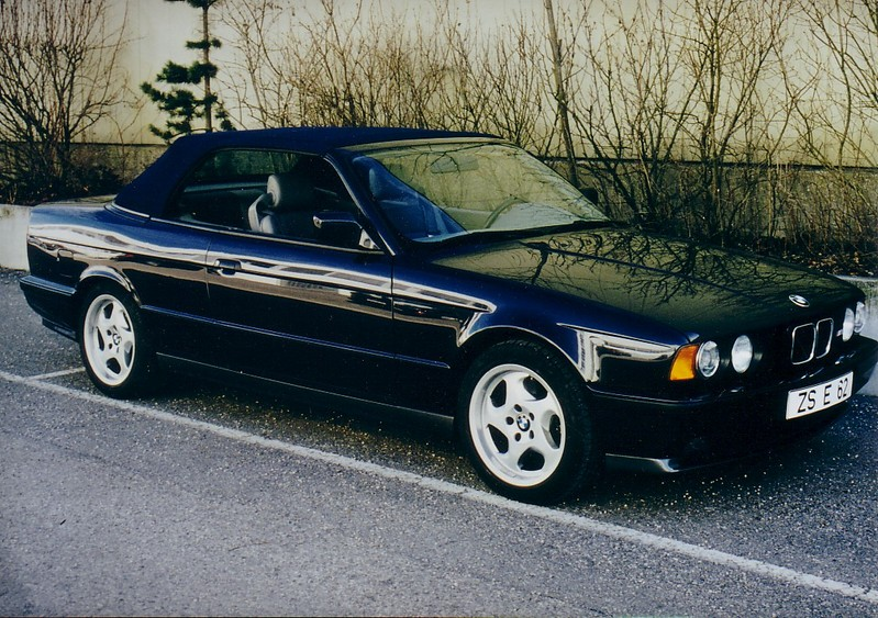 The unreleased BMW M5 E34 Convertible