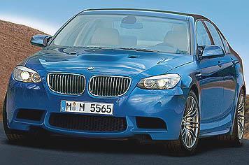 2011 BMW M5 gets 550hp