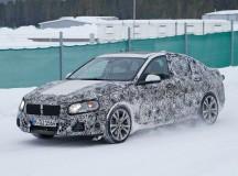 2016 BMW 1-Series sedan caught during tests