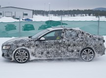 2016 BMW 1-Series sedan spied