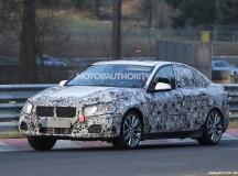 2016 BMW 1-Series sedan spy