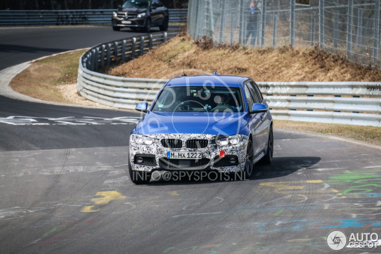 2016 BMW 3-Series Touring Spied