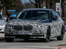 Next-gen BMW 7-Series M Sport Package spied on the circuit