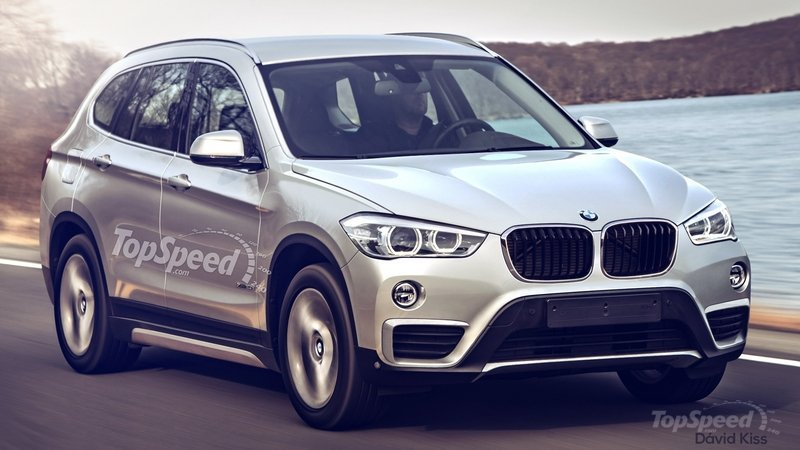 2016 BMW X1 Rendering