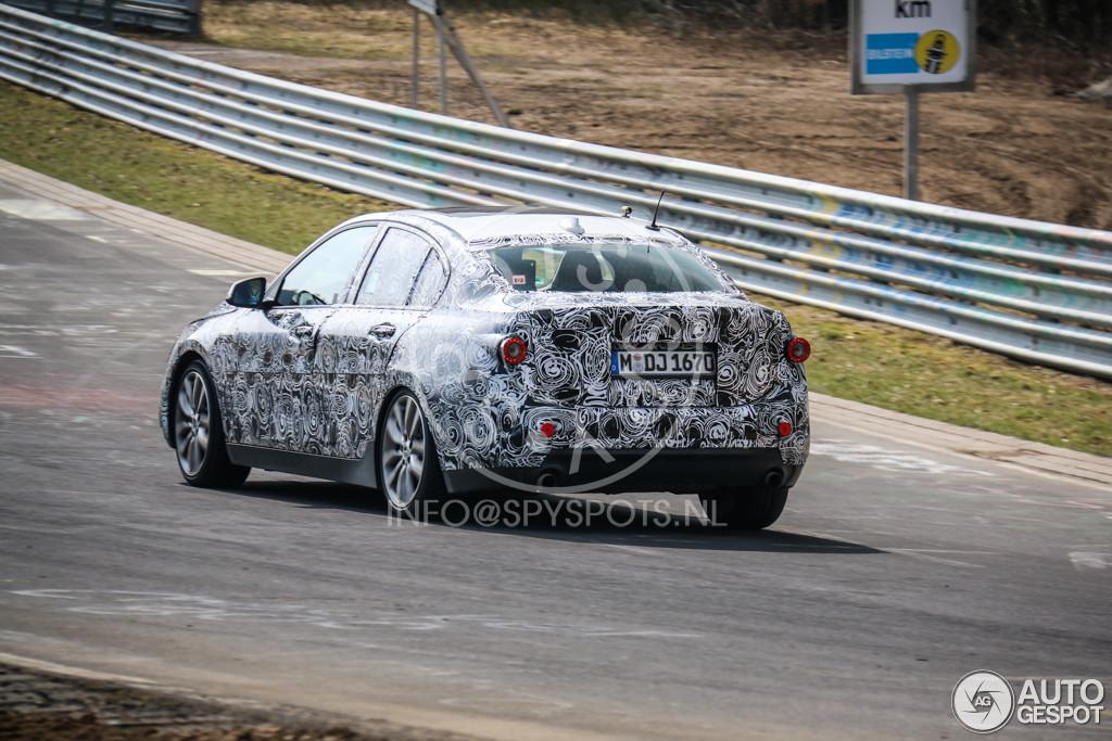 2017 BMW 1-Series Sedan