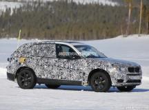 2017 BMW X3 Spied