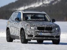 2017 BMW X3 Spy Shot