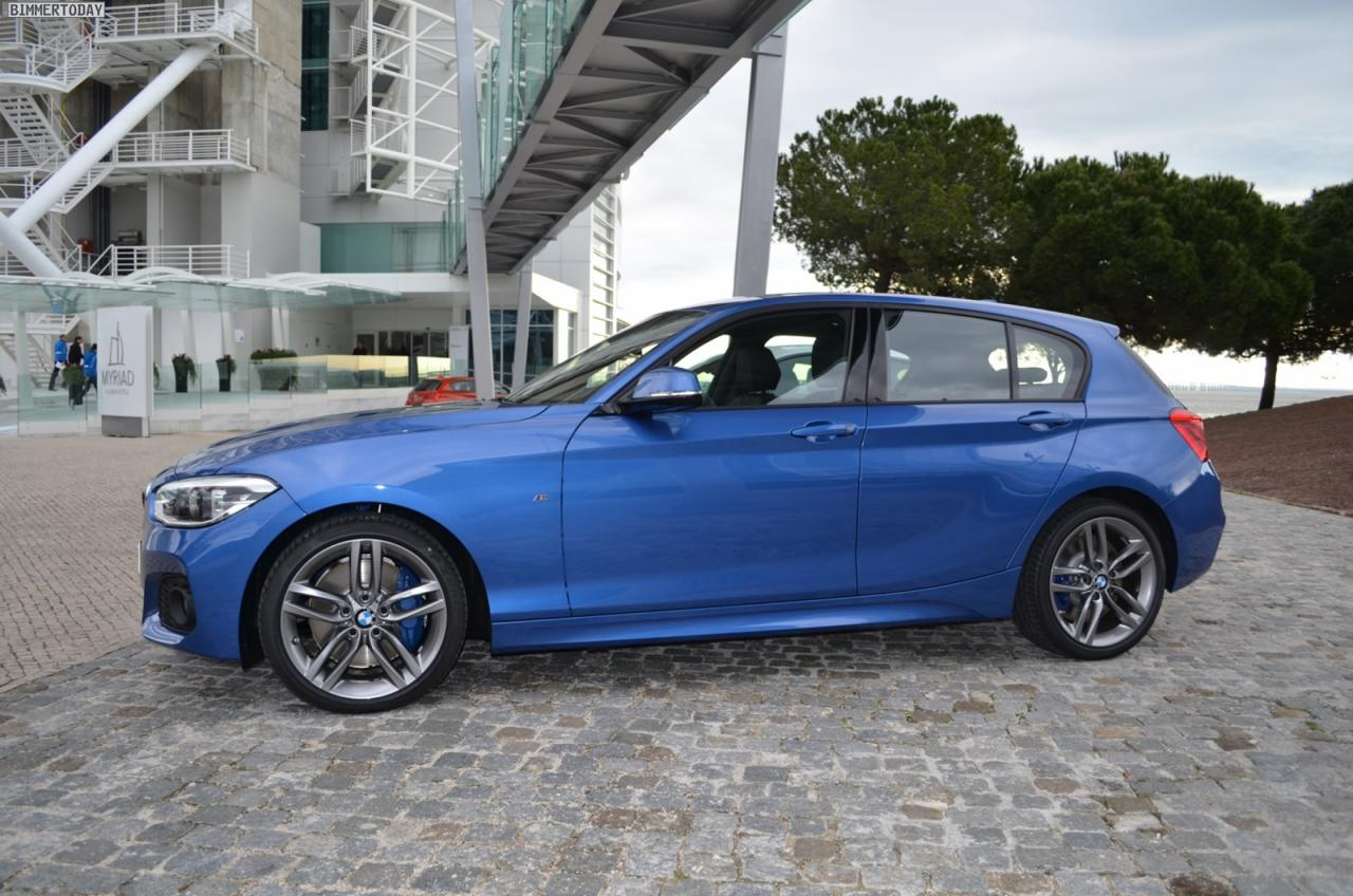 2015 bmw 1 series with m sport package caught on the streets bmwcoop. Black Bedroom Furniture Sets. Home Design Ideas