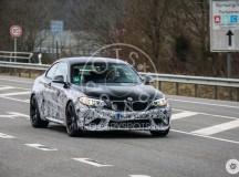 BMW M2 Tested on Nurburgring, Spy Shots Revealed
