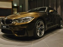 BMW M4 Coupe with Pyrite Brown Individual finish