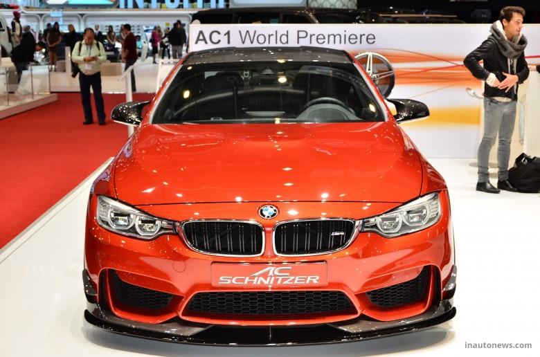 2015 Geneva Motor Show: BMW M4 by AC Schnitzer