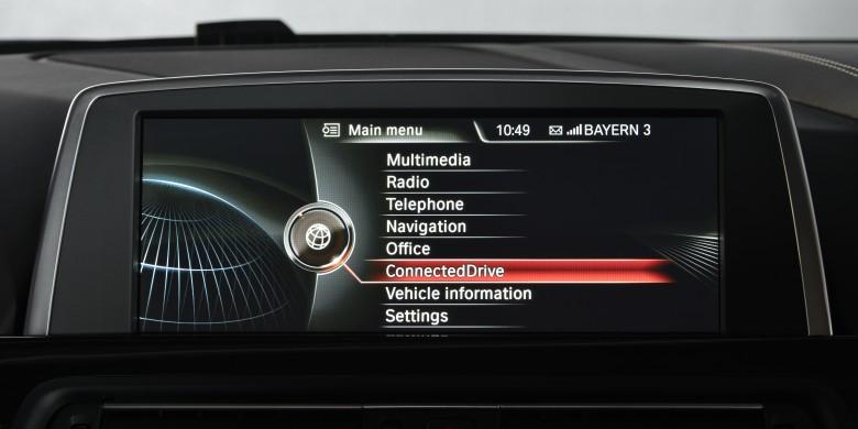 BMW iDrive system