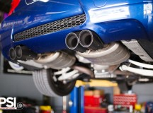 E90 BMW M3 with Akrapovic Exhaust System by PSI