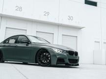 F30 BMW 3-Series Riding on MORR Wheels