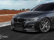 F30 BMW 335i Riding on HRE S101 Wheels