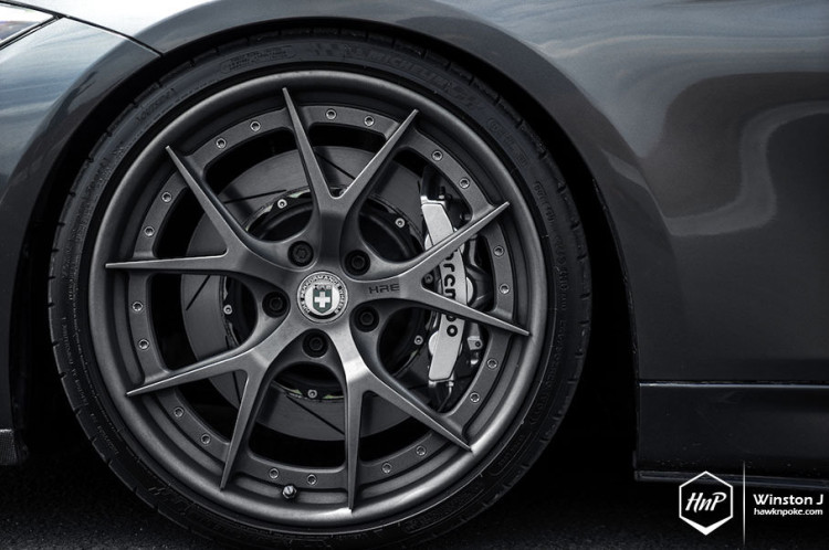 F30 BMW 335i by HRE Performance Wheels