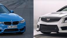 2015 BMW M3 vs. 2016 Cadillac ATS-V