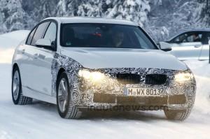 2016 BMW 3-Series 340i Spy Shot