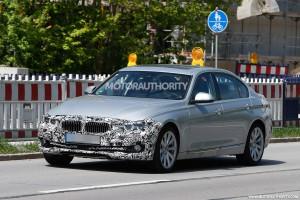 2016 BMW 3-Series Long-Wheelbase Spy Shot