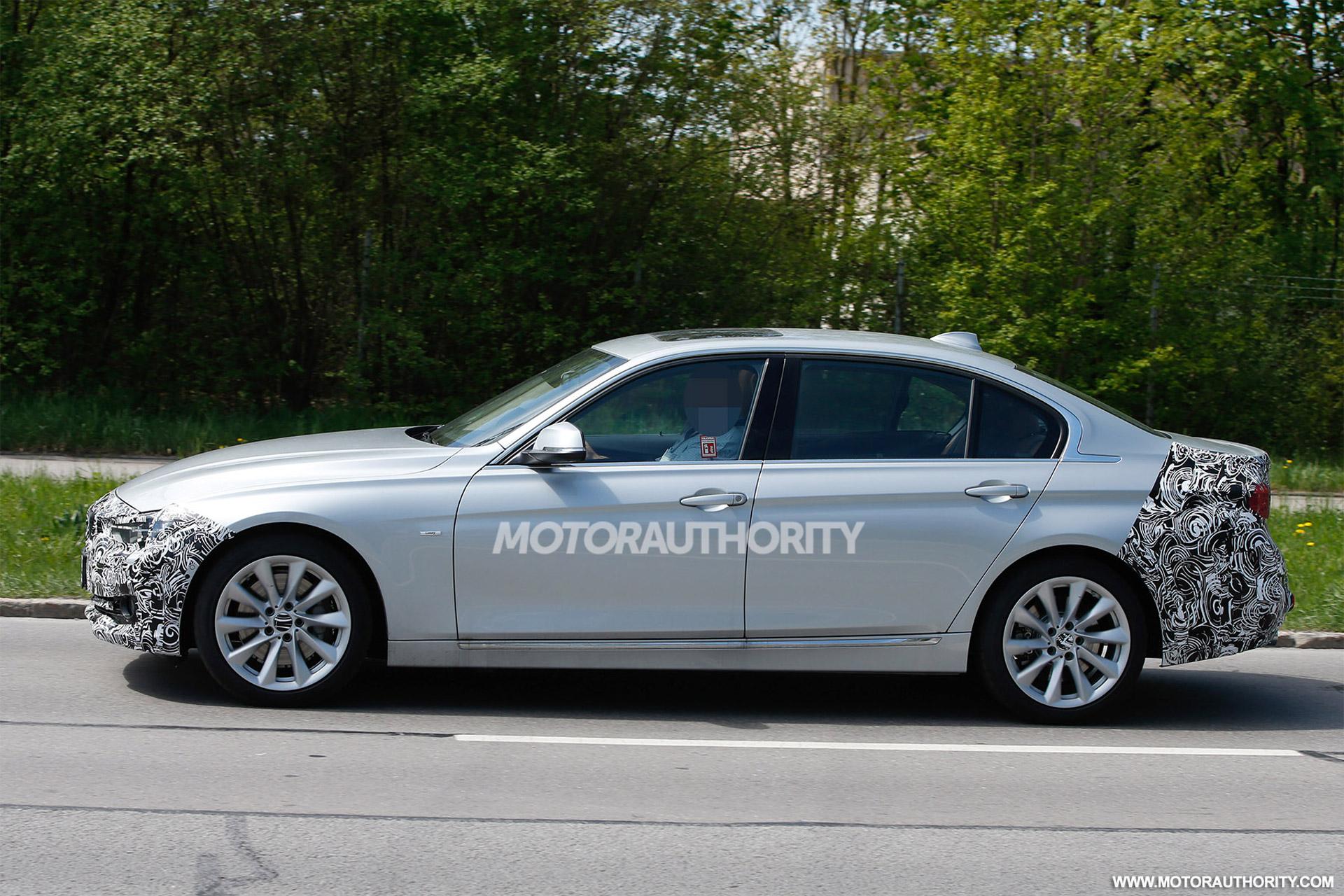 Stretched BMW Series Sedan Caught On Shots BMWCoop - 2016 bmw models