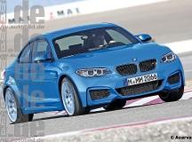 2016 BMW M2 Rendering
