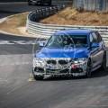 BMW 3-Series 340i Spy Shot