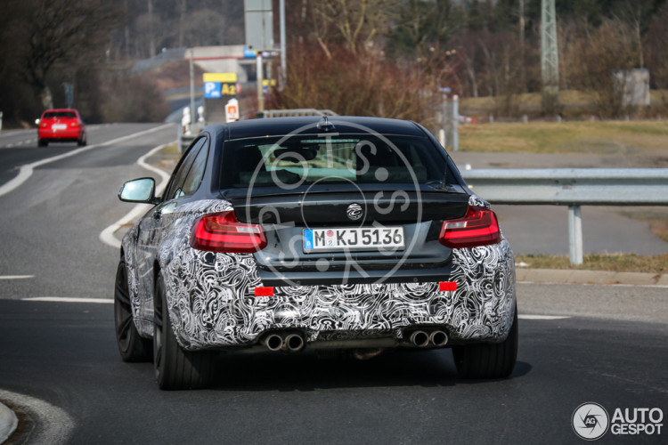 BMW M2 Spy Shot