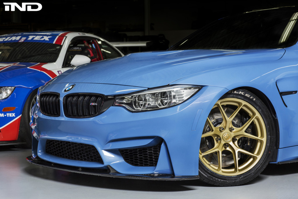 BMW M4 with HRE R101 Wheels by IND Distribution