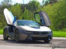 BMW i8 Giovanna Edition Matte Metallic Grigio Revealed