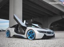 BMW i8 on HRE Wheels