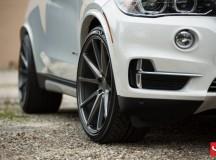 F15 BMW X5 on Vossen Wheels