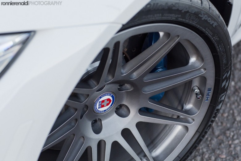 F80 BMW M3 Riding on HRE Wheels