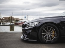 F82 BMW M4 Riding on MORR MS11 Wheels