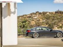 F82 BMW M4 with ADV06 Track Function CS Series Wheels