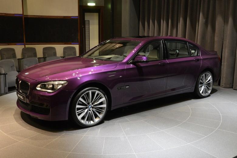 2015 BMW 760Li Pops Up At Abu Dhabi