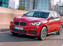 2016 F48 BMW X1 Rendering