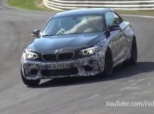 2016 F87 BMW M2 New Spy Video at Nurburgring