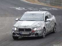 2017 BMW 1-Series Sedan Spy Shot