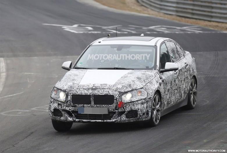 2017 BMW 1-Series Sedan Seen in First Spy Video at Nurburgring