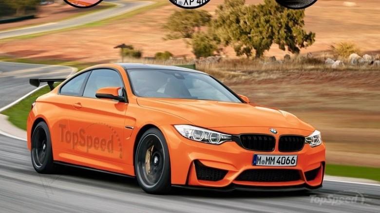 2017 BMW M4 GTS Rendering