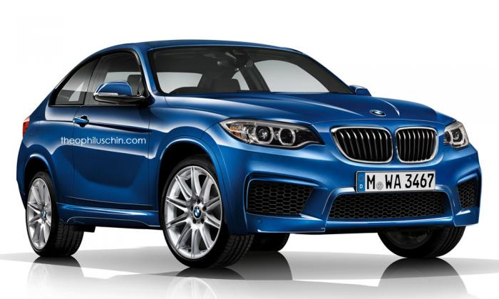 2017 BMW X2 Rendering
